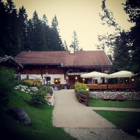 Waldgasthaus Triendlsage : Vista dall'esterno