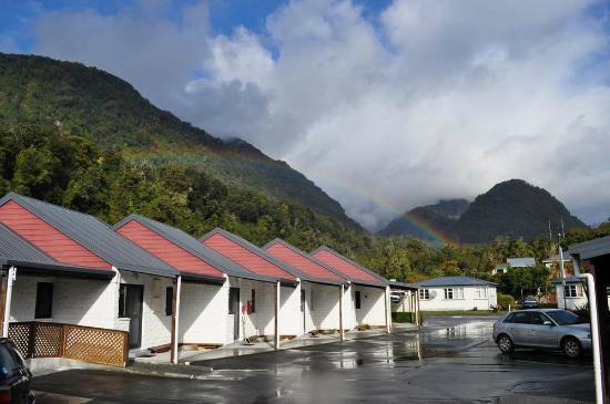 Alpine Glacier Motor Lodge: Location of Alpine Glacier Motel in Franz Joseph