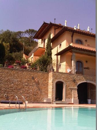 Villa La Malva : Hotel and pool