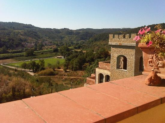 Villa La Malva : View from the balcony