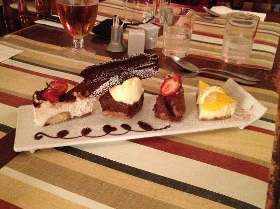 Oliver's With A Twist: Leave a little room for the desserts!