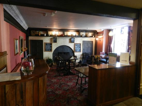 The Black Lion Hotel : Downstairs dining area