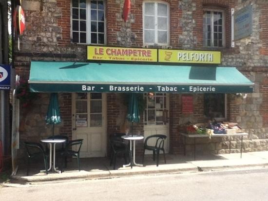 Le Champetre : entrance