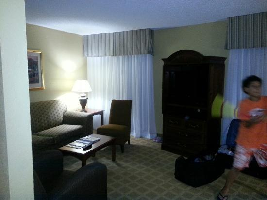 Wyndham Boca Raton : Living room