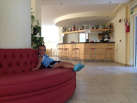 Pellegrino Palace Hotel: ba r- colazione