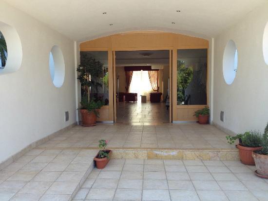 Pellegrino Palace Hotel: ingresso hall