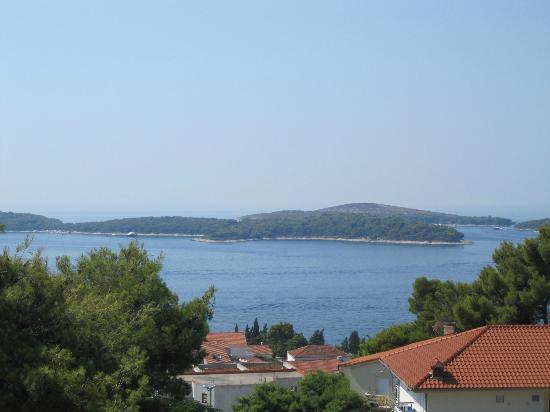 Apartmani Popovic: Pakleni Islands - View from the balcony