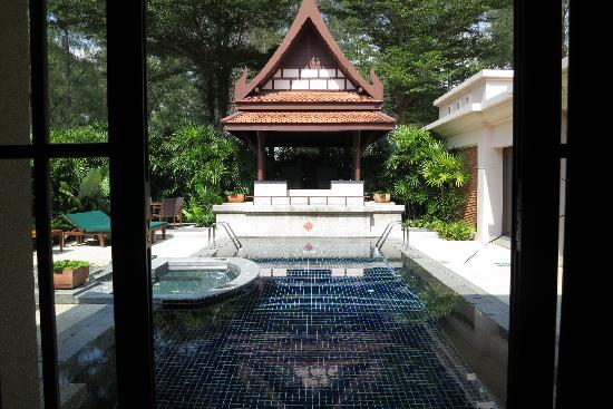 Banyan Tree Phuket: pool outside master bedroom