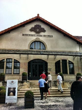 Bouchard Père & Fils : The main entrance