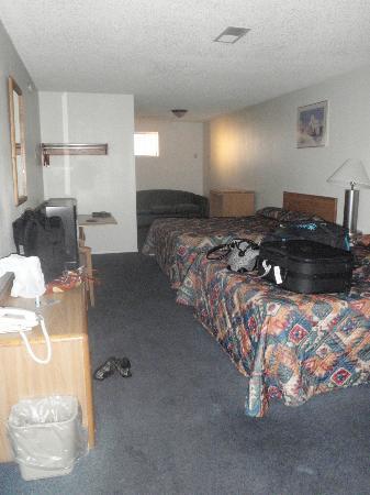 Knights Inn Page AZ: Notre chambre
