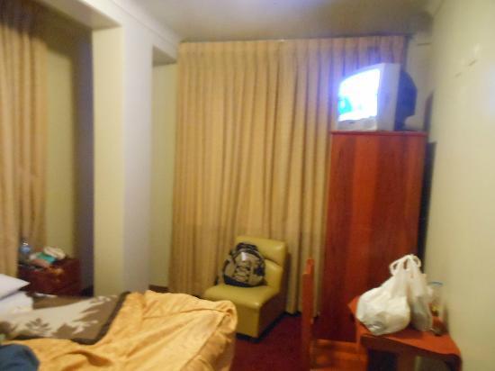 Pacha Hotel Museo: muy modesto el equipamiento, sin calefaccion