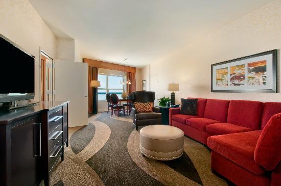 Hilton Madison Monona Terrace: Parlor Room