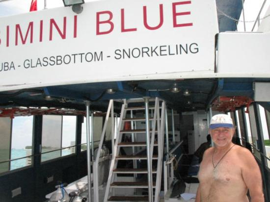 Bimini Big Game Club Resort & Marina: Bimini Blue dive boat Neil Watson