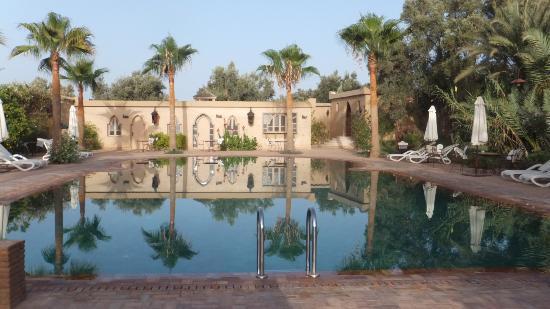 Hotel Dar Zitoune: La piscine