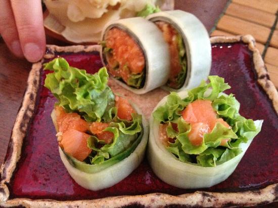Tomo Sushi: Tartare di salmone