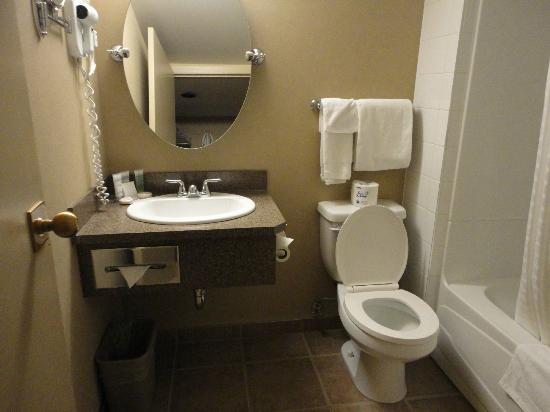 Lobstick Lodge: A clean and renovated bathroom