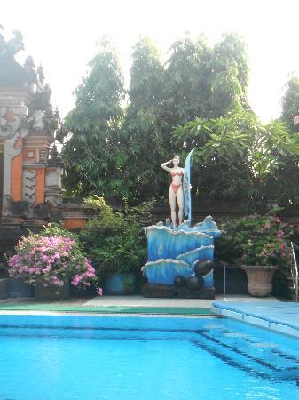 Masa Inn: Nice garden in Massa Inn