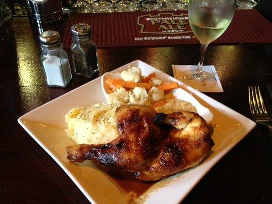 Hibernian Bar: BBQ Chicken