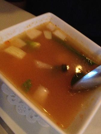 La Na Thai French Cuisine: Lemongrass Soup with Shrimp