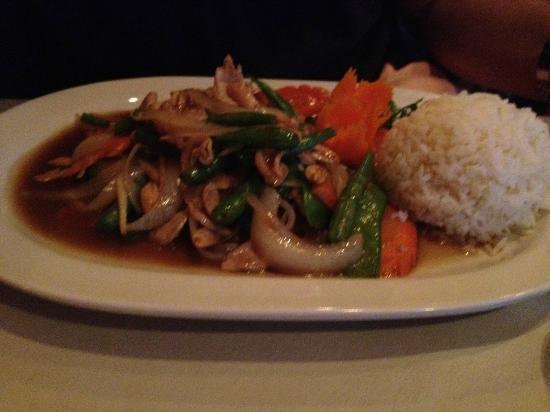 La Na Thai French Cuisine: Thai Ginger