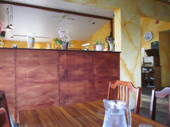 Kannslarinn: 2nd dining area