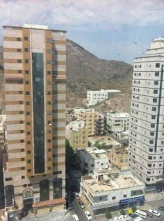 Makarem Al-Bait Hotel: view from my room
