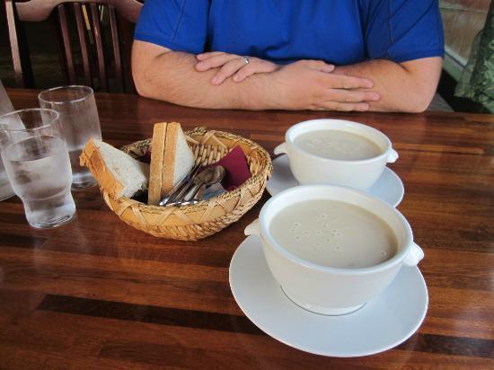 Kannslarinn: Mushroom soup