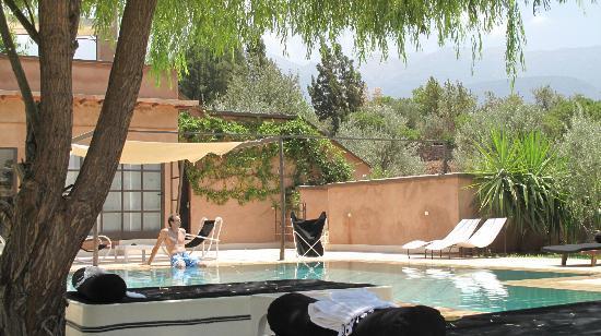 Domaine Malika: pool area