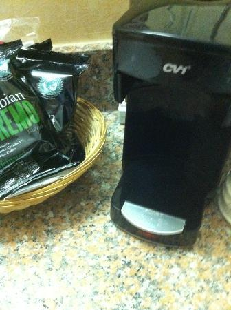 Days Inn North Sioux City : No pot for the coffee