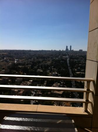 Le Royal Hotel Amman: view from suite 2310