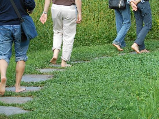 Erlebnis Kränzelhof: Passeggiata nel giardino