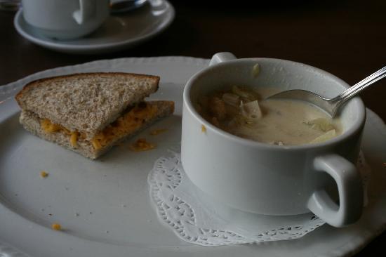 Eilean Dubh Restaurant: Deluxe meal option.