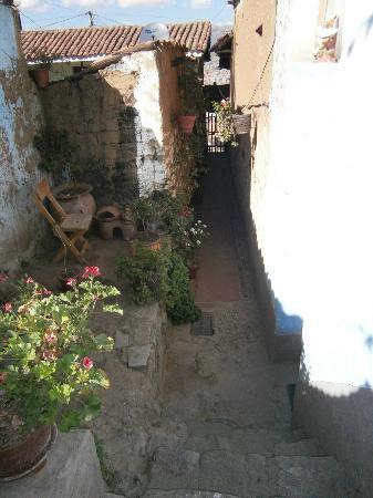 The Blue House Cusco: entrée de la maison