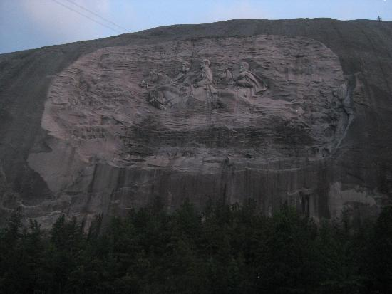 Stone Mountain: The carving