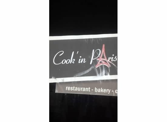 Cook ' n Paris: sign