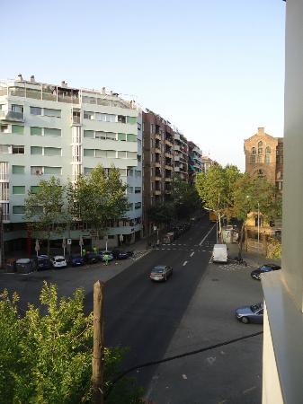 Amrey Sant Pau: Vista dalla finestra della camera