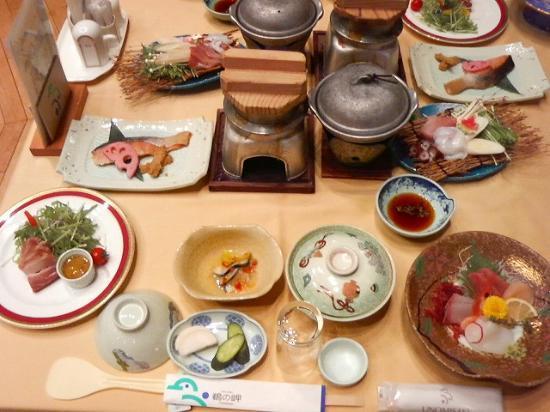 Hitachi, Japón: 食事1