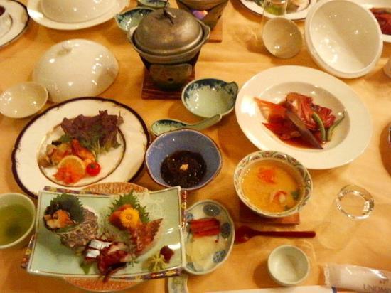 Hitachi, Japón: 食事2