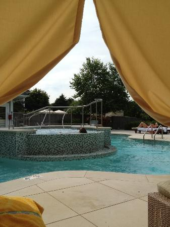 Chatham Bars Inn Spa >> View Of Spa Pool From Our Cabana Picture Of Chatham Bars Inn