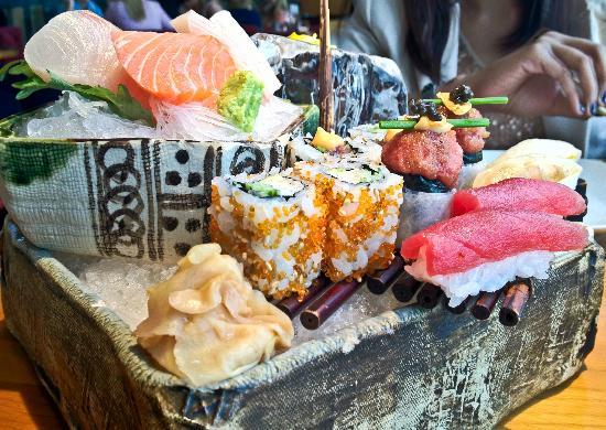 Zuma: Sushi platter ... fresh fresh fresh