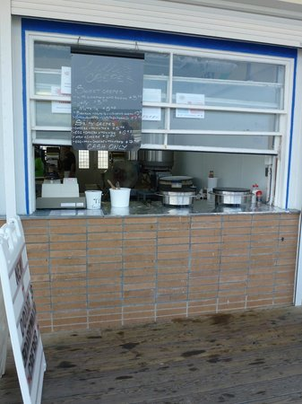 Dolle's 2012 NOW serving Crepes on the Rehoboth Boardwalk