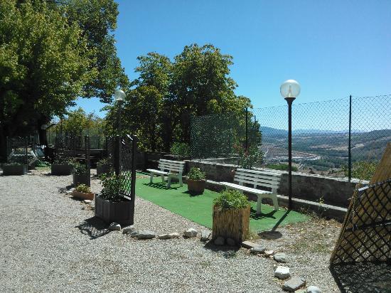 Pizzeria Pozzo Beccaro : Vista del giardino estivo