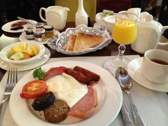 "Park House Restaurant: Fabulous ""traditional"" Irish breakfast"
