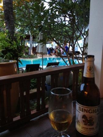 Thai House Beach Resort: villa B