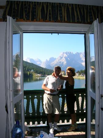 Grand Hotel Misurina : splendida vista sul Lago