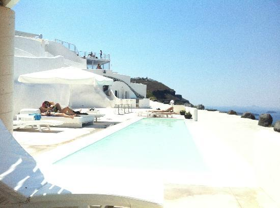 Rocabella Santorini Hotel & Spa: Pool