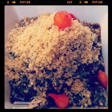 Dui : arroz de rabada com quiabo e farofa de farinha d'agua