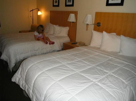 Magnuson Hotel Fishkill : Chambre à deux lits Queen