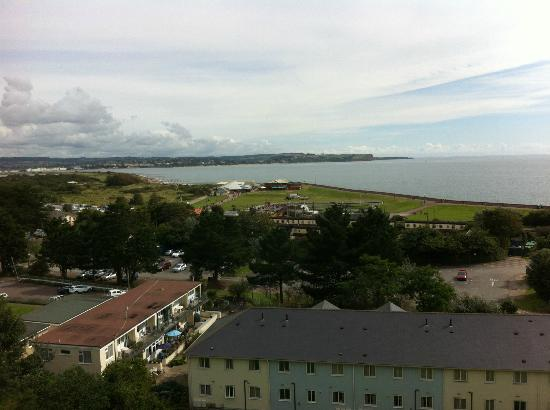 Dawlish, UK: the view from our room 