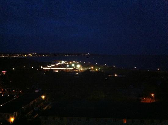 Dawlish, UK: at night,